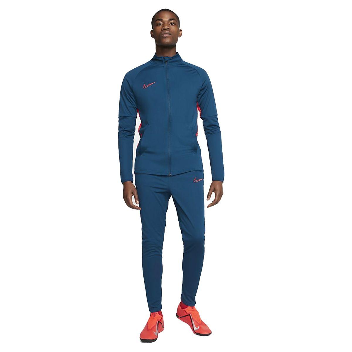 Nike Tuta Polestere Academy Uomo Blu