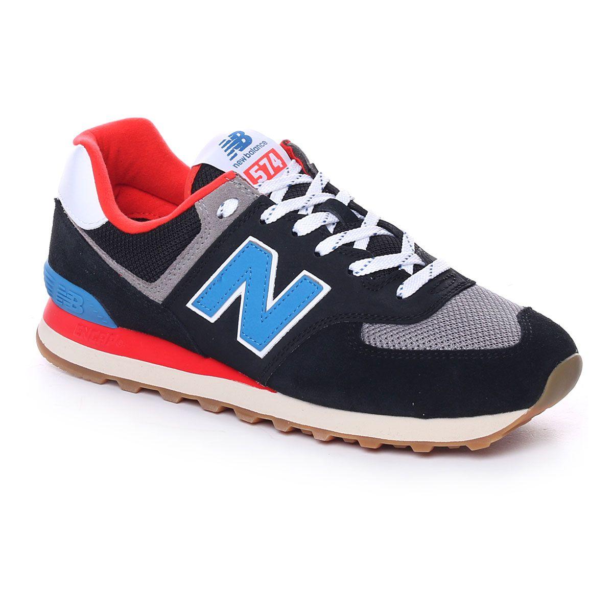 New Balance 574 Uomo Trend Pack Nero Blu