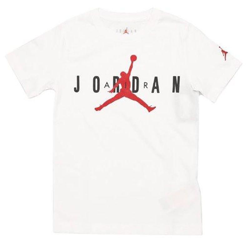 Nike Air Jordan 5 T-Shirt Bambino Bianco