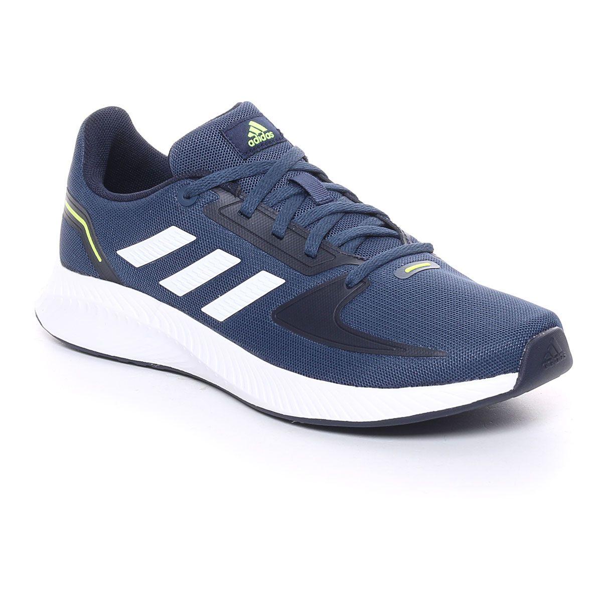 adidas Runfalcon 2.0 Bambino Blu Bianco