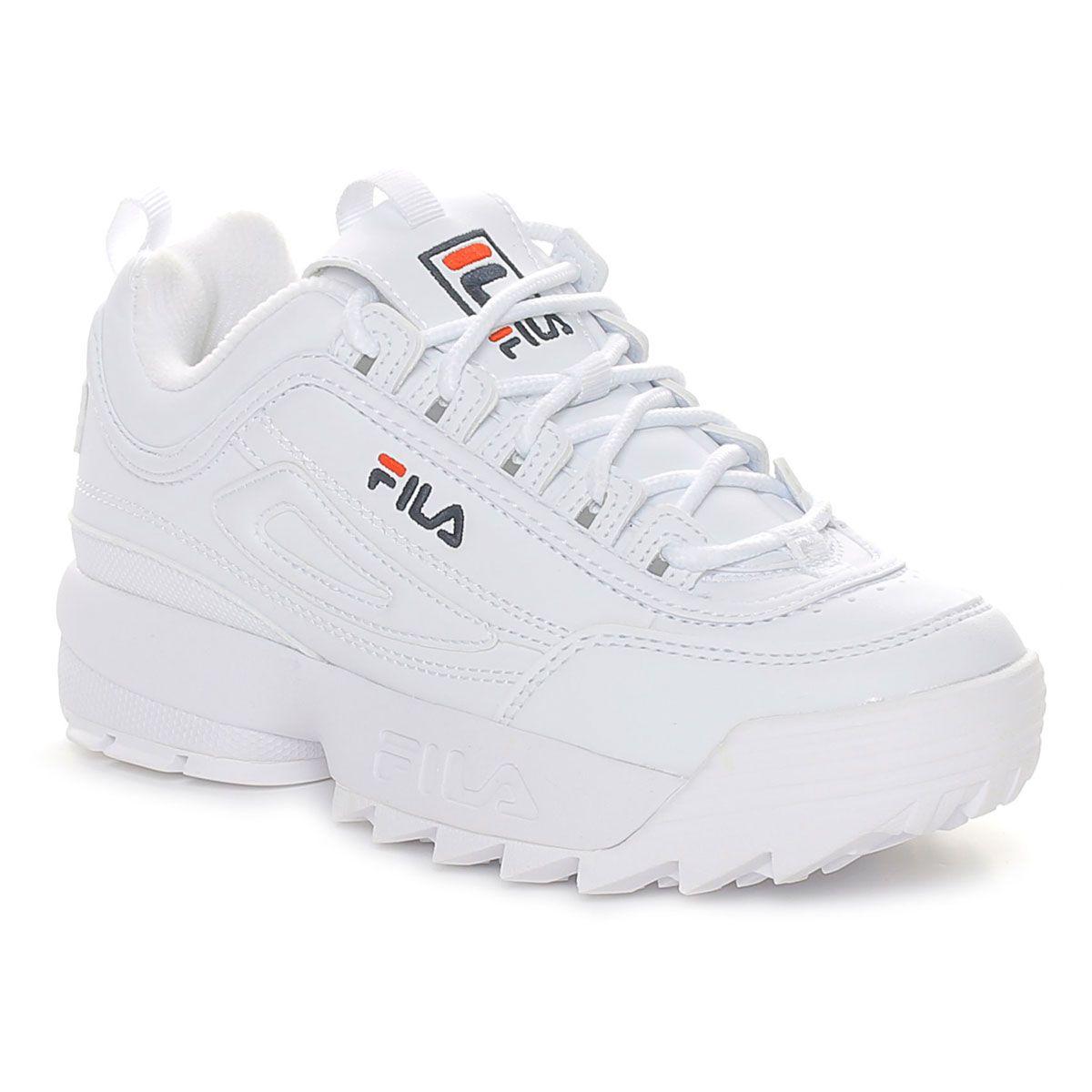 Fila Disruptor Kids Bianco