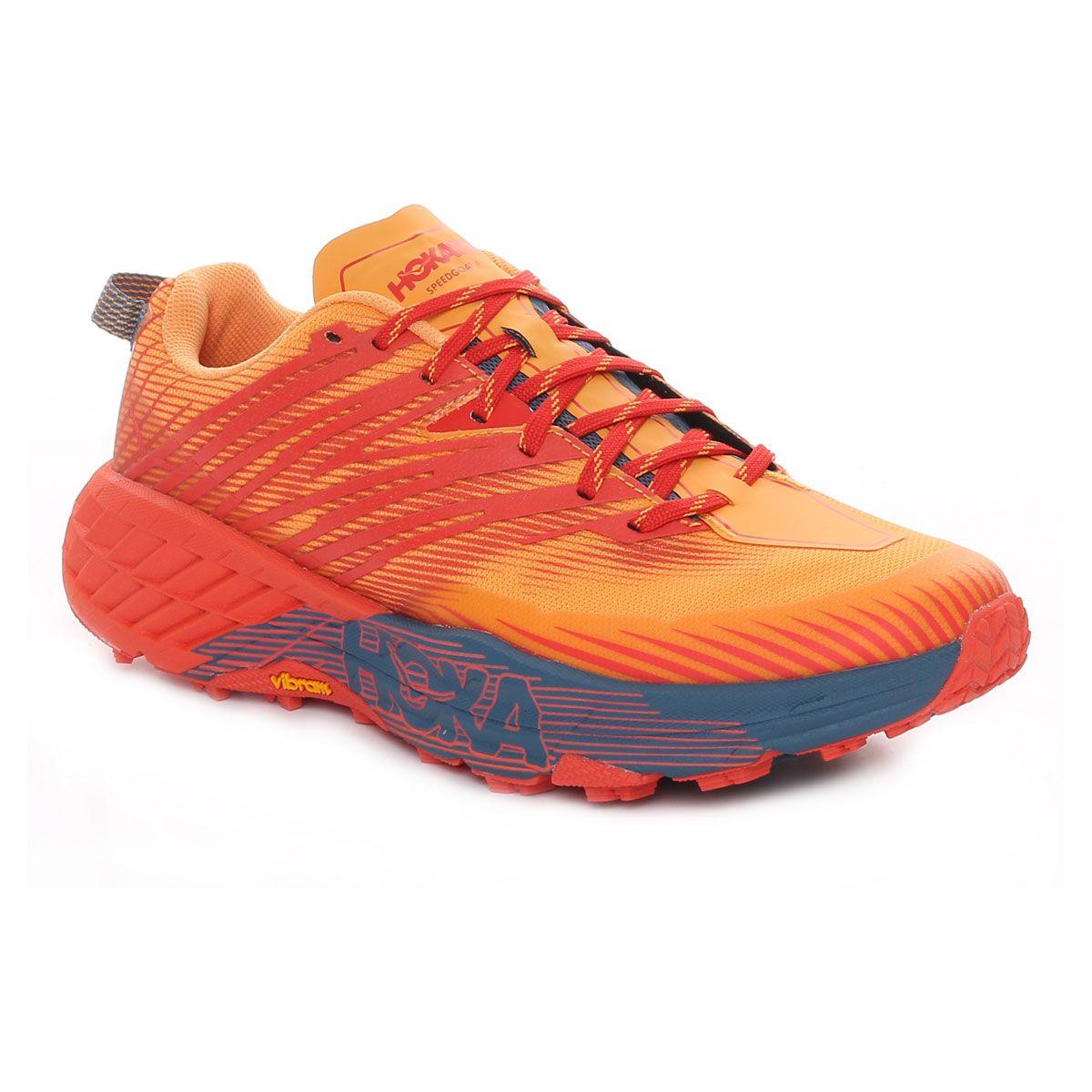 Hoka Speedgoat 4 Uomo Rosso Arancione