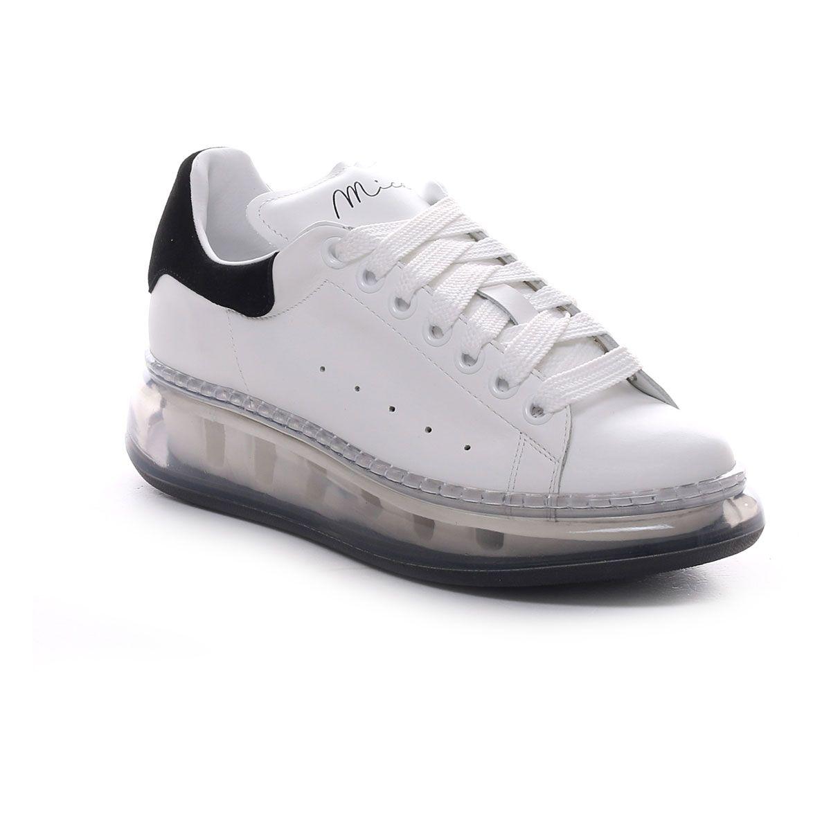 Mica Sneaker Alexander Platform Air Donna Bianco Nero