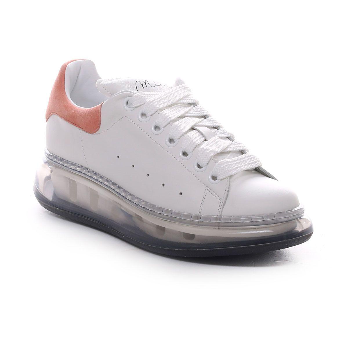 Mica Sneaker Alexander Platform Air Donna Bianco Rosa