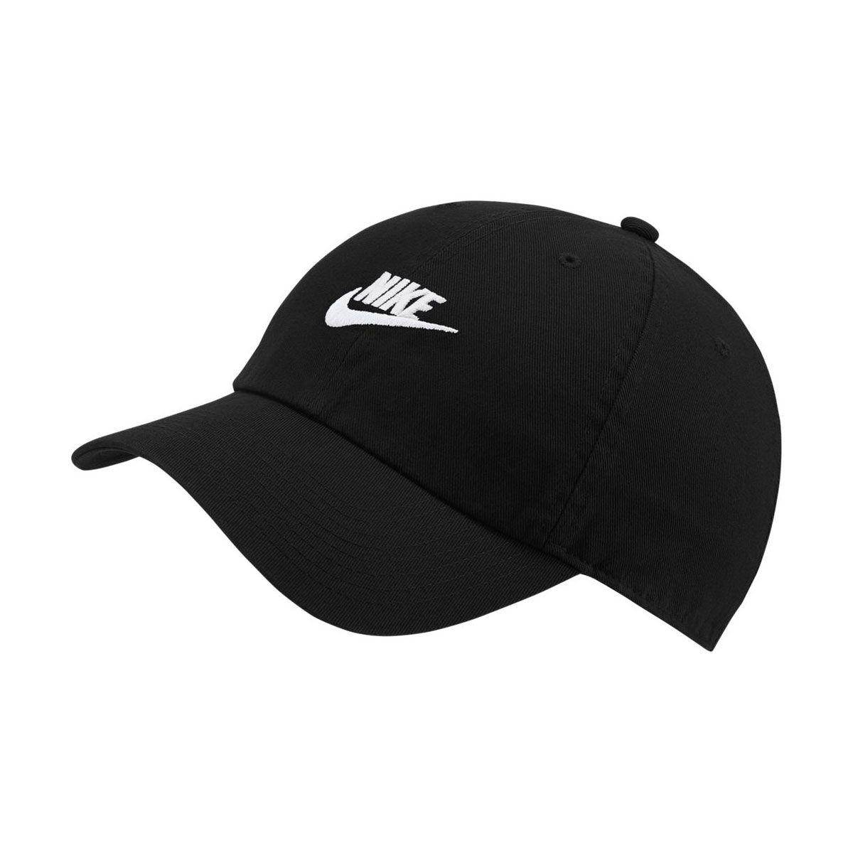 Nike Cappello Sportswear Heritage86 Futura Washed Nero