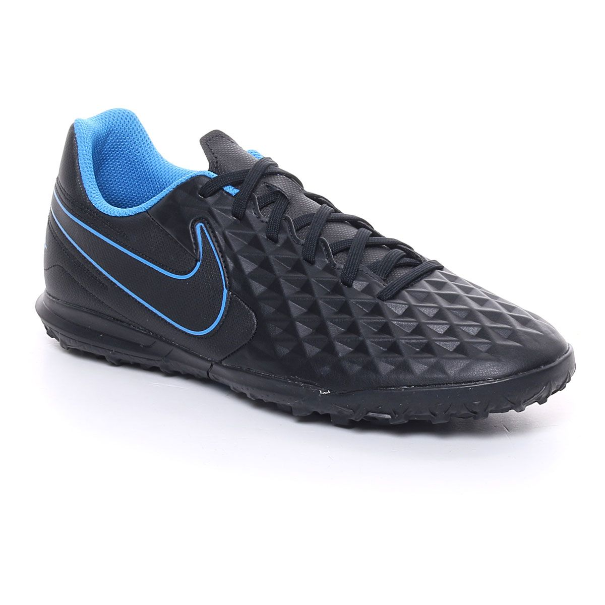Nike Tiempo Legend 8 Club TF Uomo Nero Azzurro
