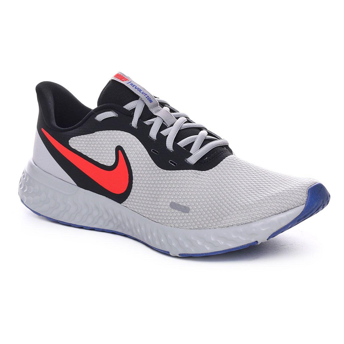 Nike Revolution 5 Uomo Nero Grigio