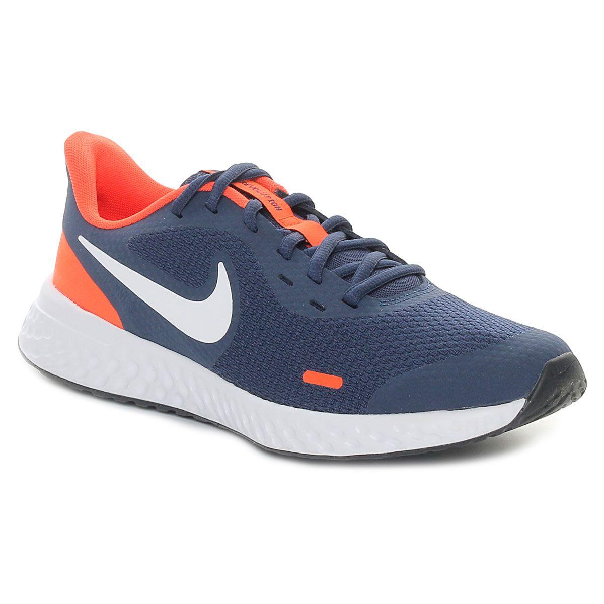 Nike Revolution 5 (Gs) Bambino Blu