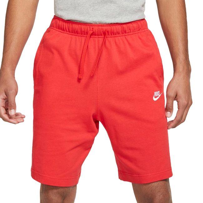 Nike Pantaloncino Sportswear Club Uomo Rosso