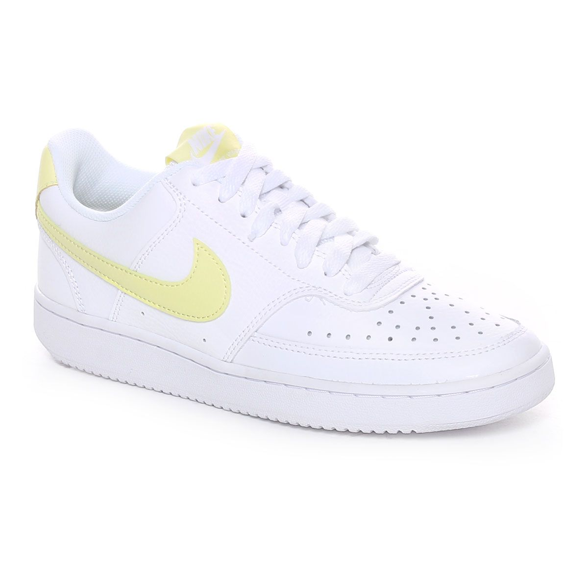 Nike Court Vision Low Donna Bianco Giallo