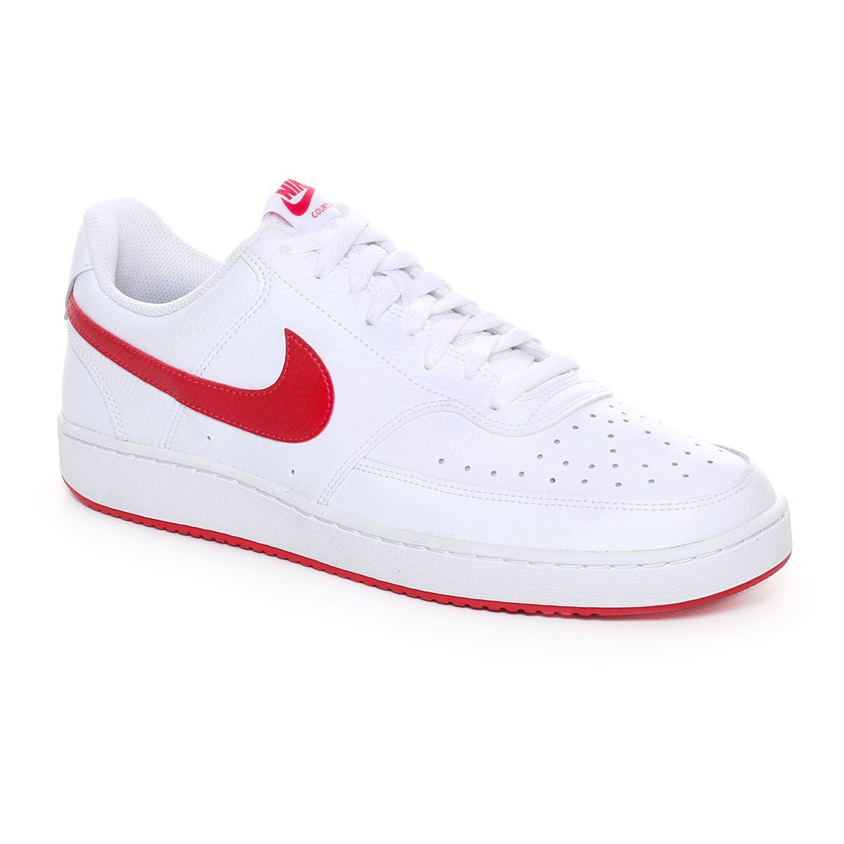 Nike Court Vision Low Uomo Bianco Rosso