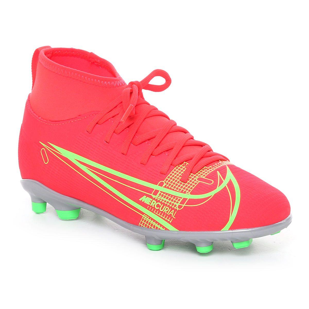 Nike Jr. Mercurial Superfly 8 Club Mg Arancione Lime