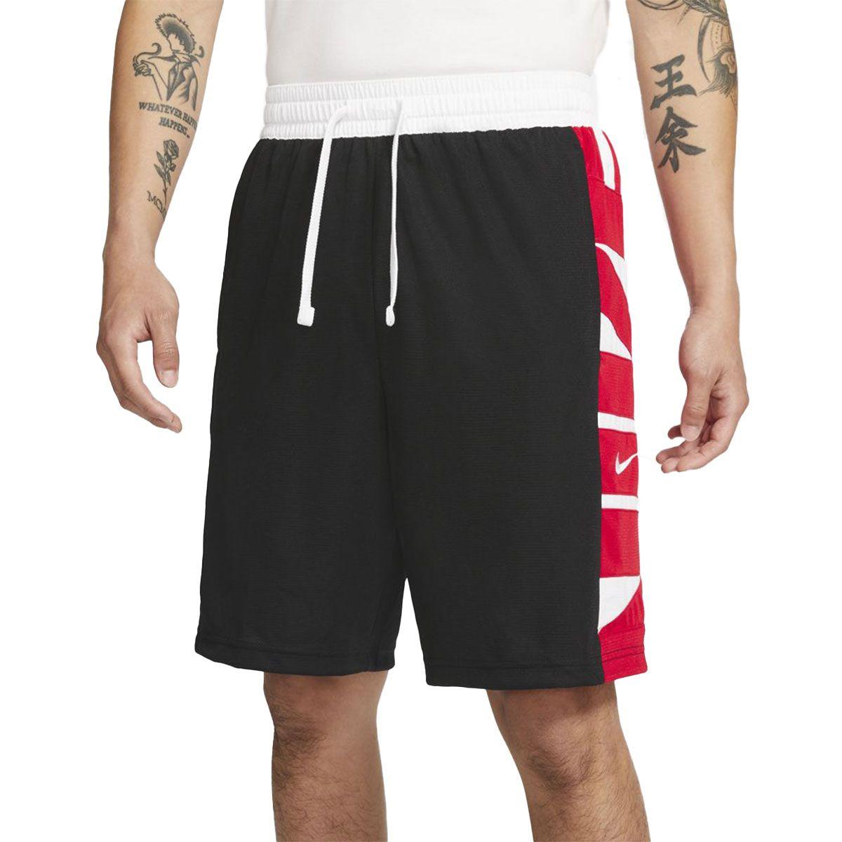 Nike Short Dri-FIT Uomo Nero Rosso