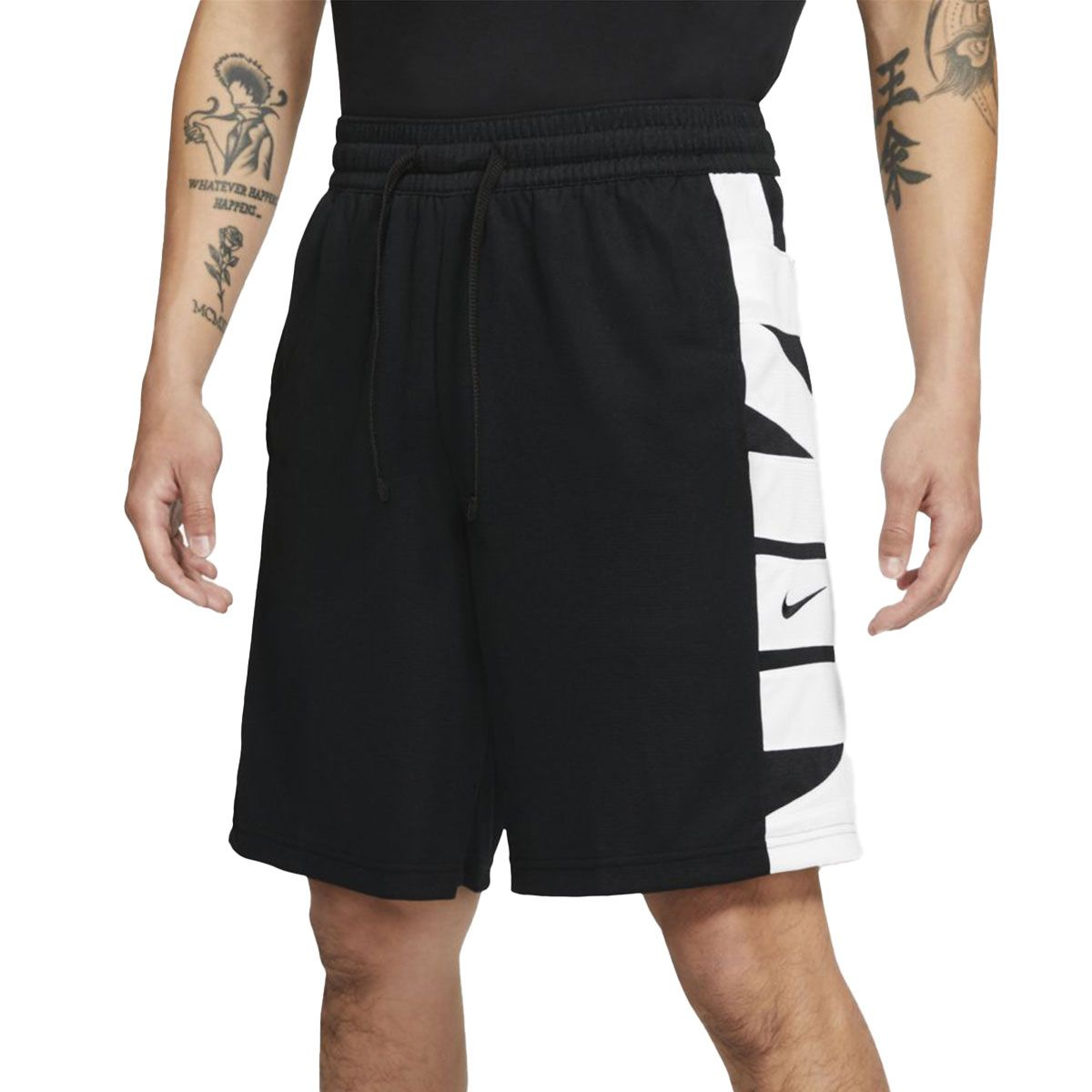 Nike Short Dri-FIT Uomo Nero Bianco