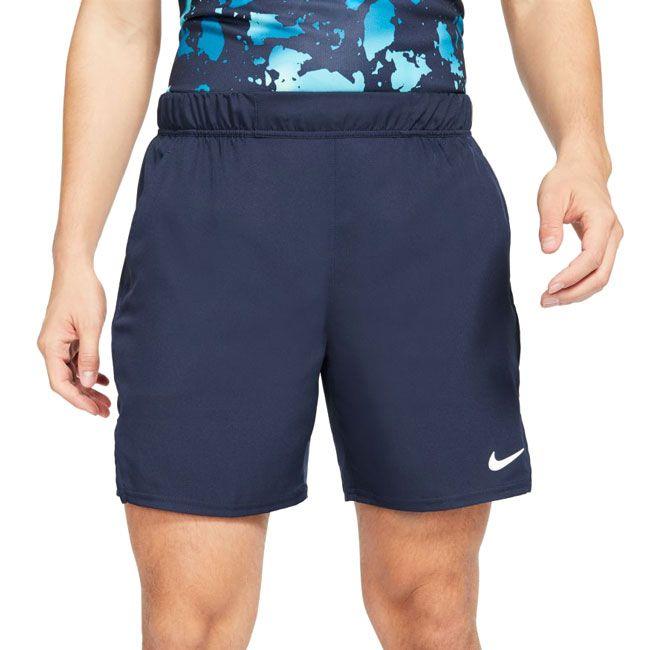 Nike Shorts NikeCourt Dri-FIT Victory Uomo Blu