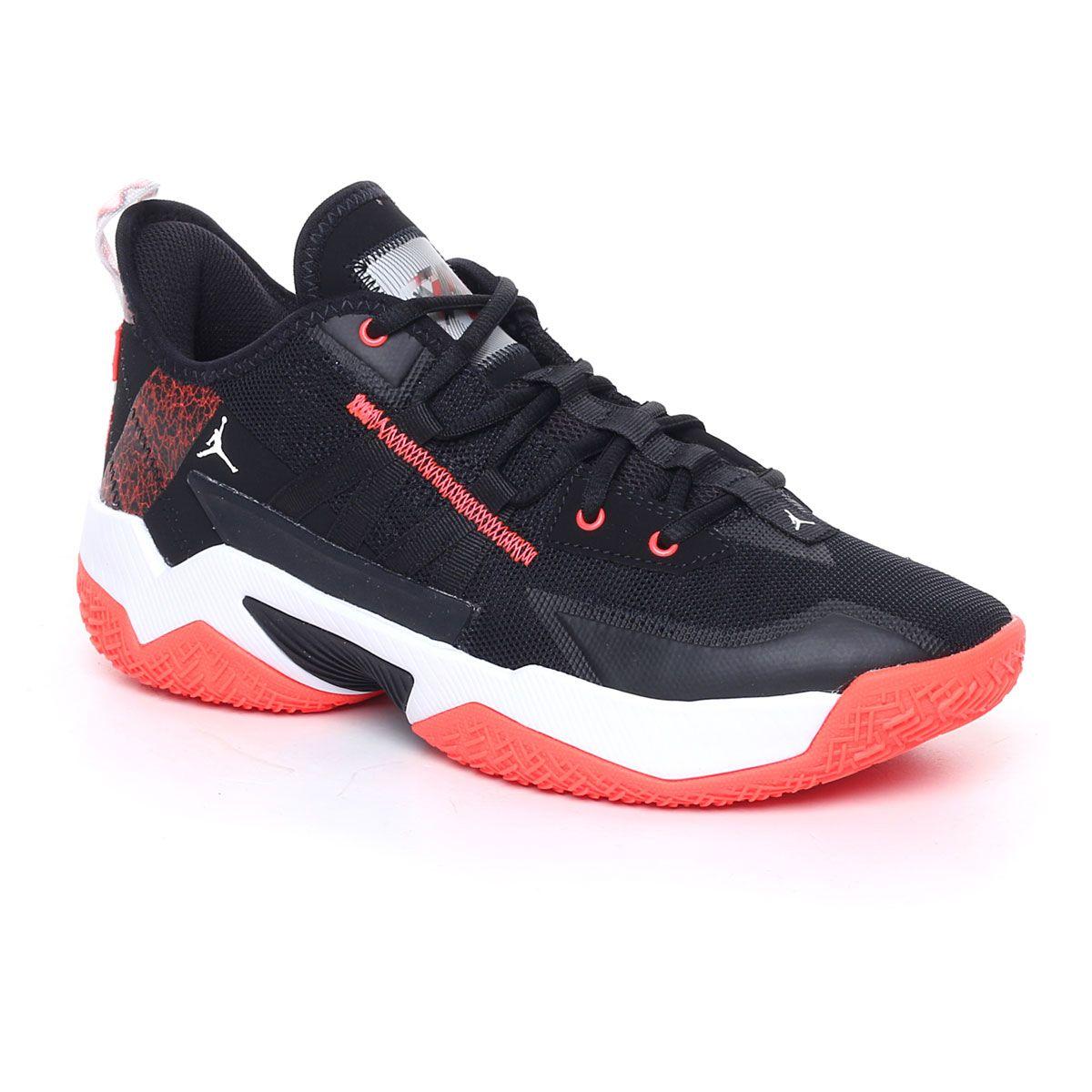 Nike Jordan One Take Ii Uomo Nero Rosso