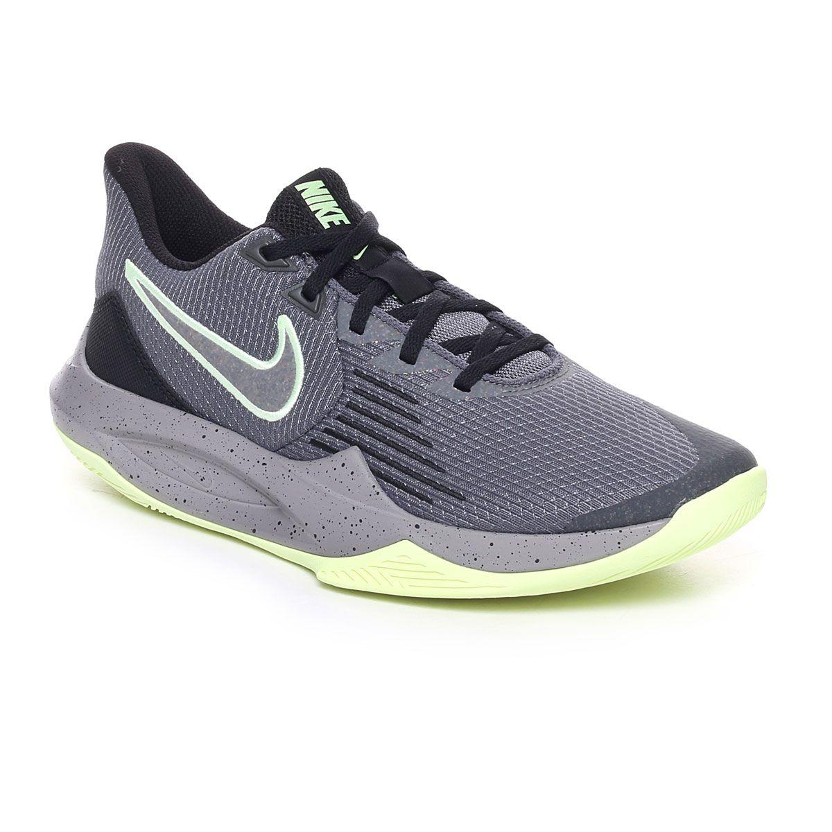 Nike Precision V Uomo Antracite Lime