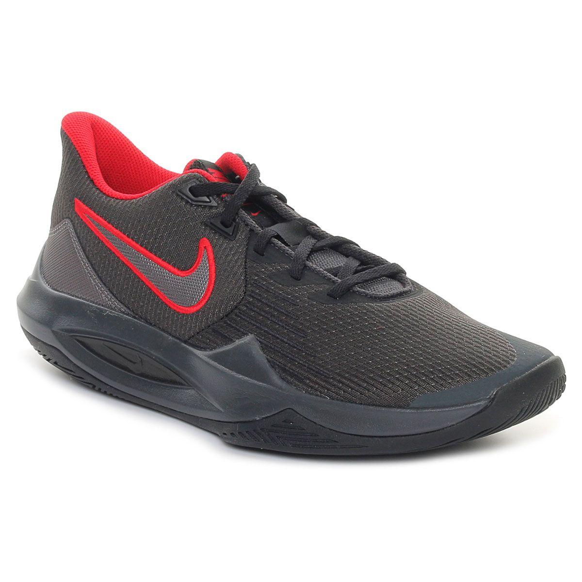 Nike Precision V Uomo Rosso Nero