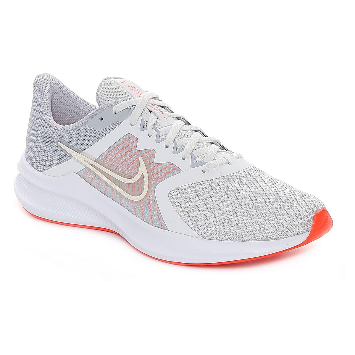 Nike Downshifter 11 Uomo Grigio Rosso