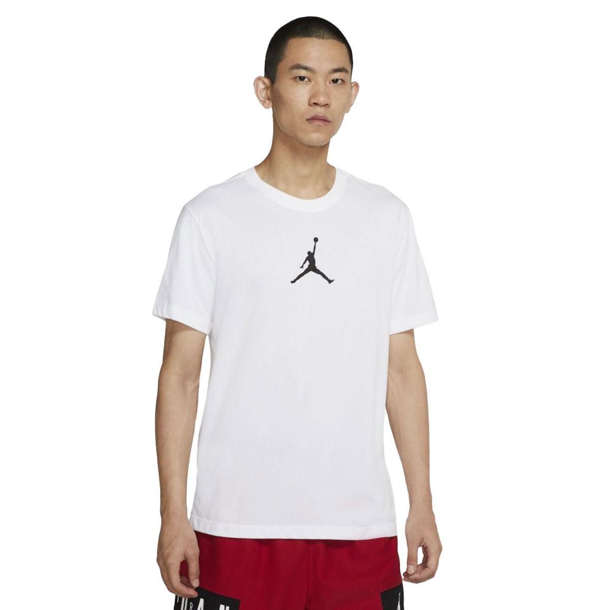 T-Shirt Uomo Nike Jordan Jumpman manica corta White Black