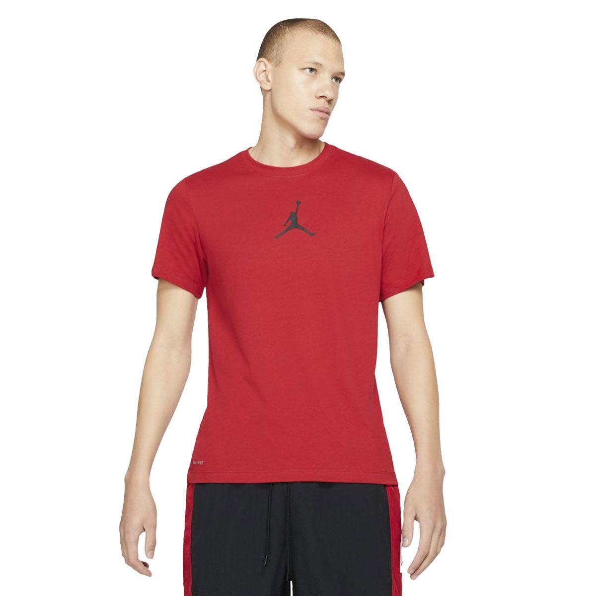 Nike T-Shirt Jordan Jumpman Uomo Rosso
