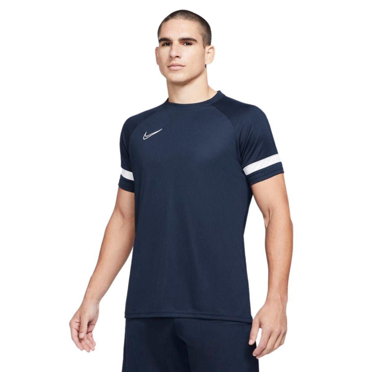 Nike T-Shirt Dri-FIT Academy Uomo Blu Bianco