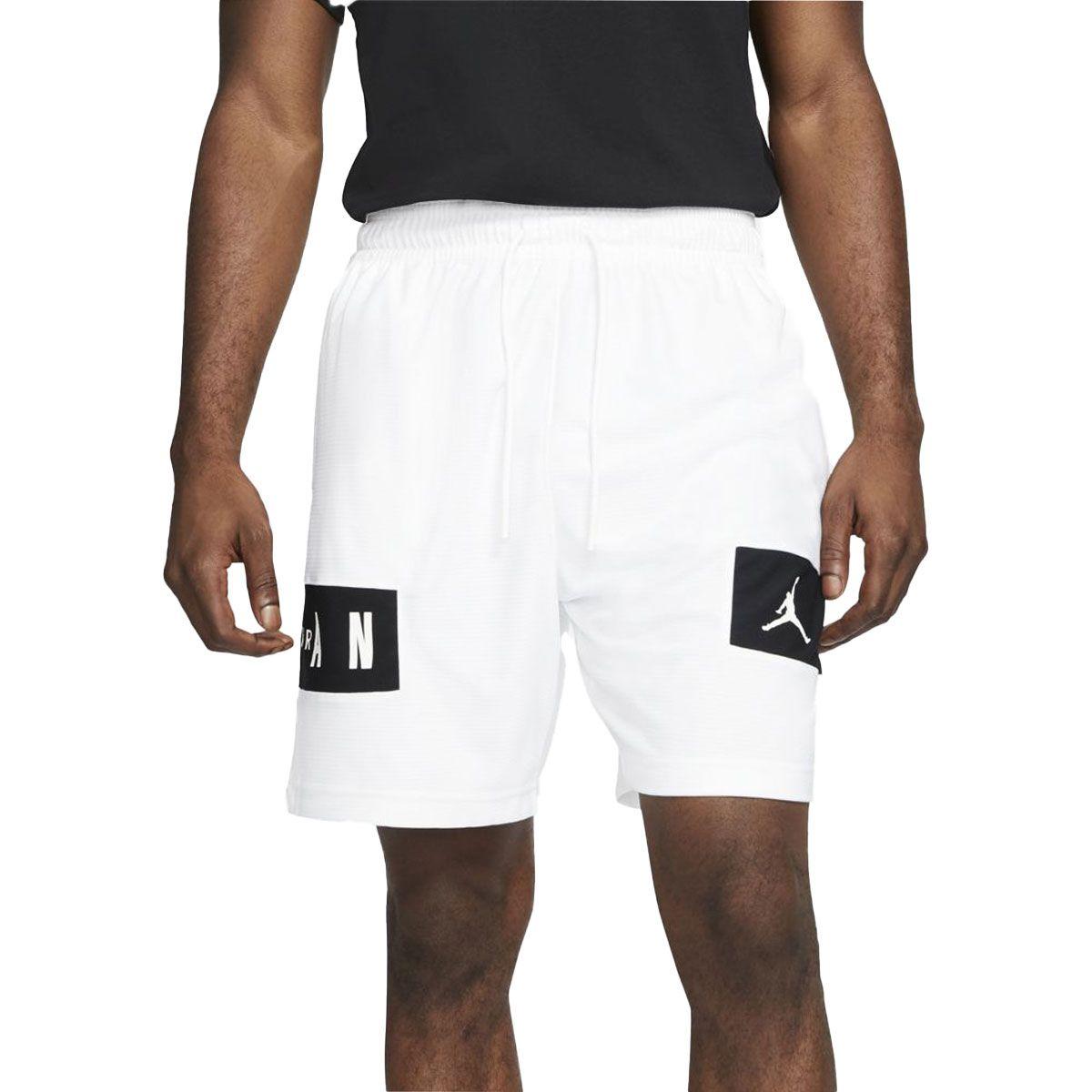 Nike Short Jordan Dri-FIT Air Uomo Bianco Nero