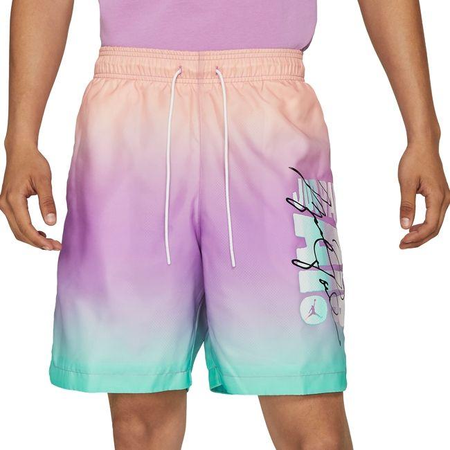 Nike Short Piscina Jordan Sport DNA Uomo Arancione