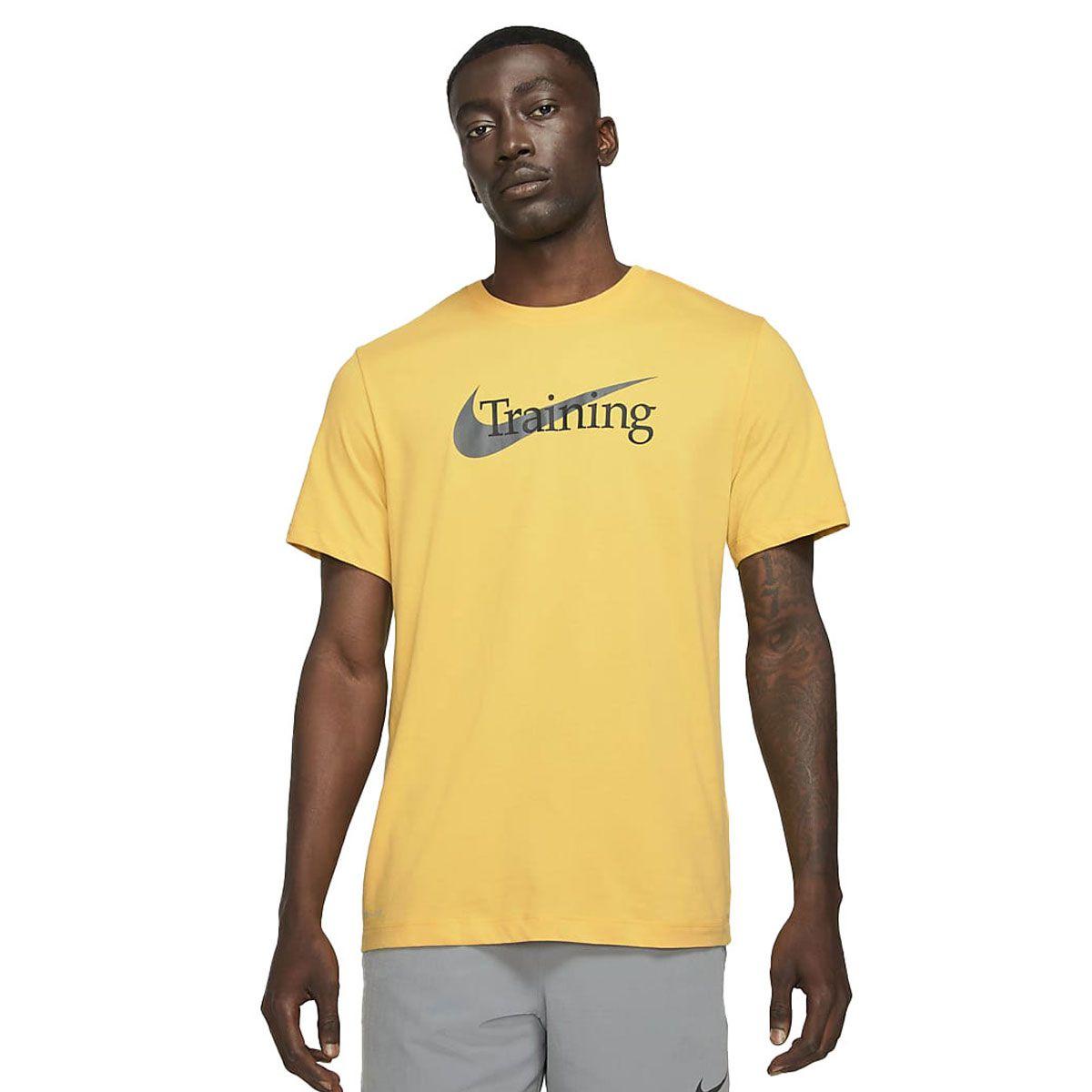 Nike T-Shirt Manica Corta Cotone Drifit Training
