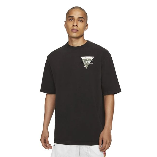 Nike Jordan T-Shirt Wash Graphic Flight Uomo Nero