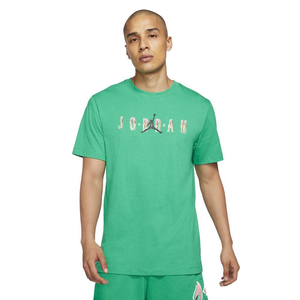 Nike T-Shirt Jordan Sport Uomo Verde