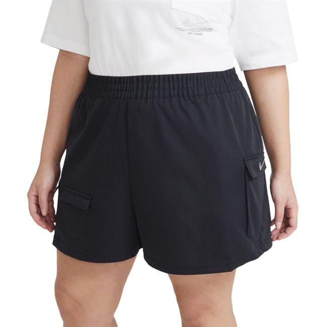 Nike Short Cargo Sportswear Swoosh Donna Nero