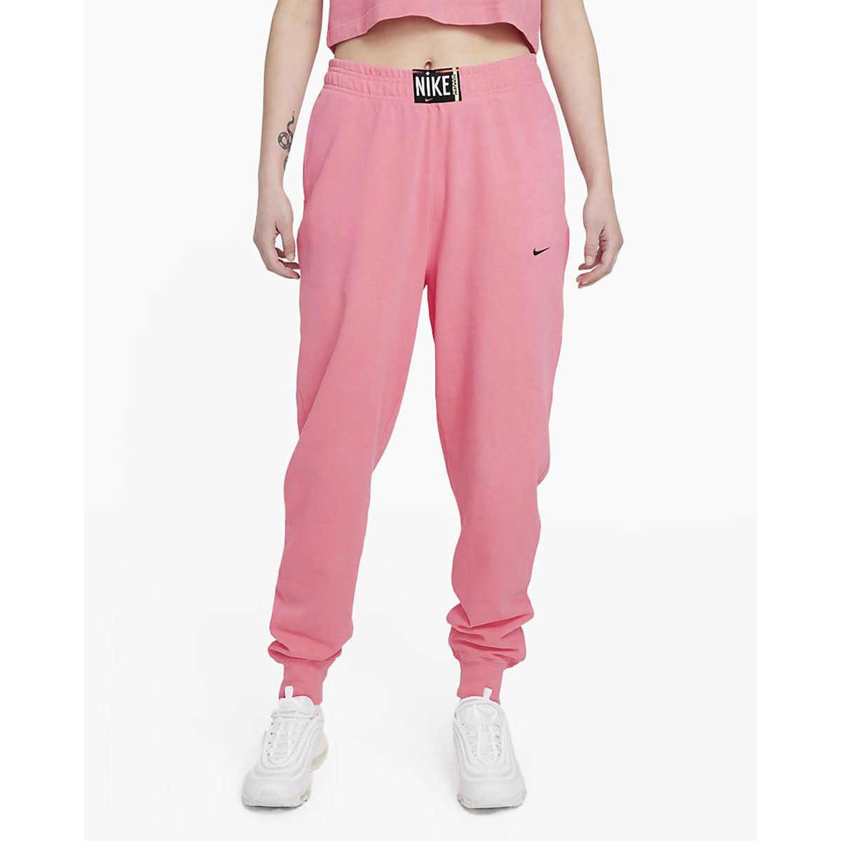 Nike Pantaloni Sportswear Donna Rosa
