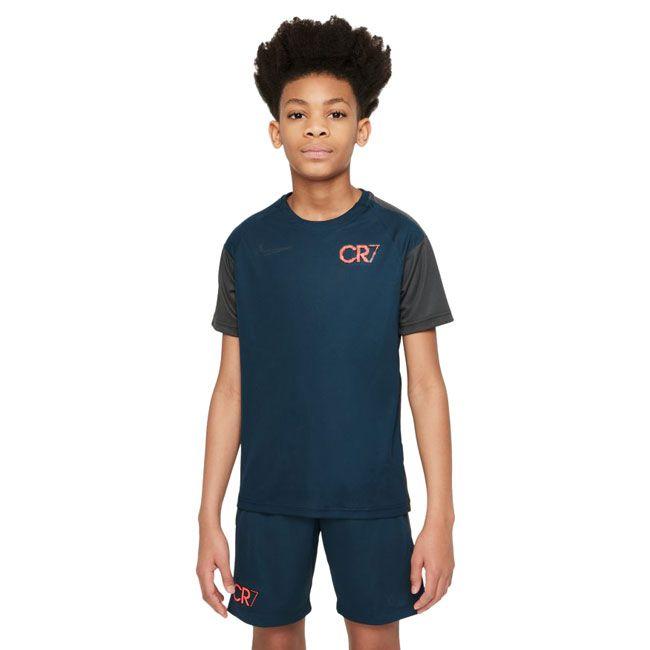 Nike Maglia Calcio Dri-FIT CR7 Ragazzo Blu