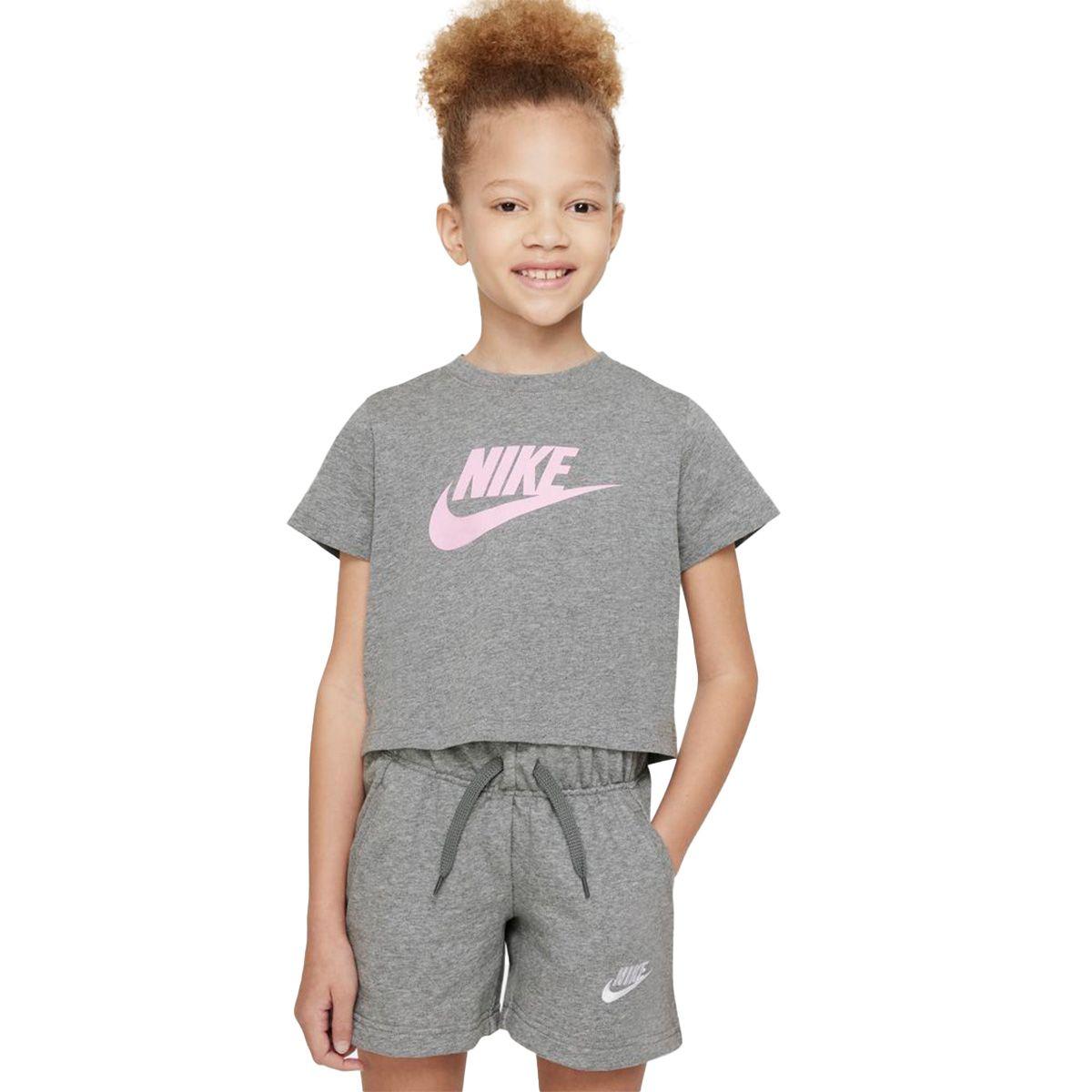 Nike T-Shirt Futura Bambino Grigio