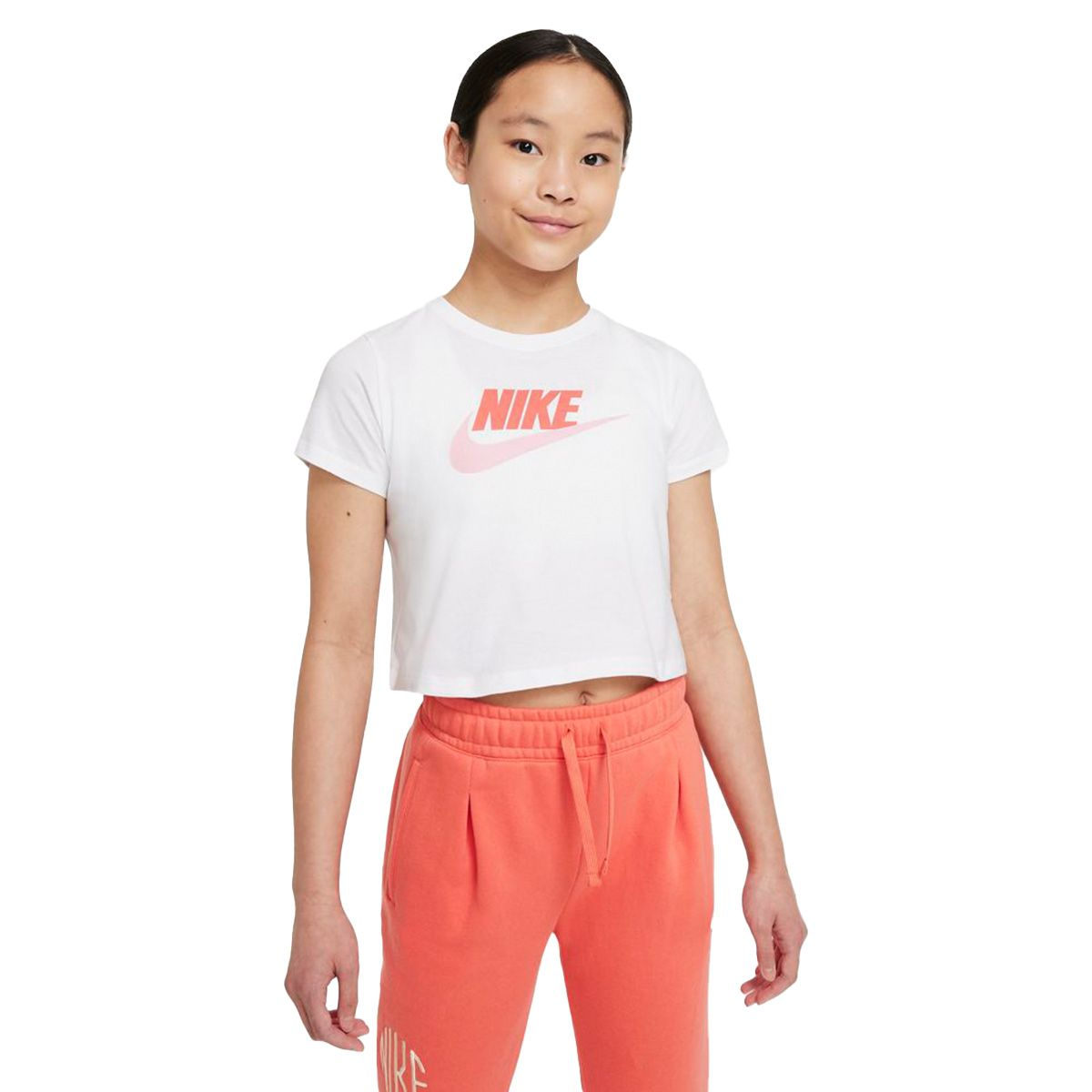 Nike T-Shirt Futura Bambino Bianco