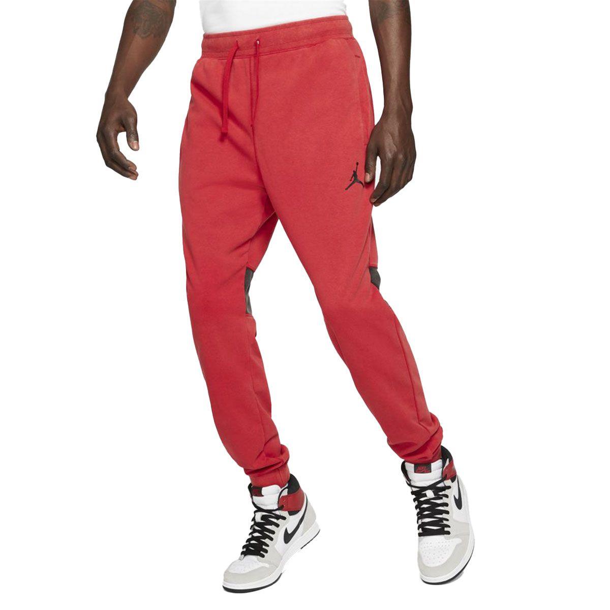 Nike Jogger Jordan Air Uomo Rosso