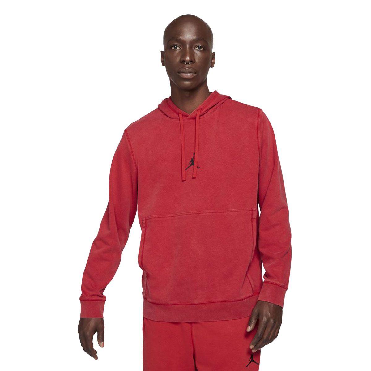 Nike Felpa Jordan Dri-Fit Air Uomo Rosso