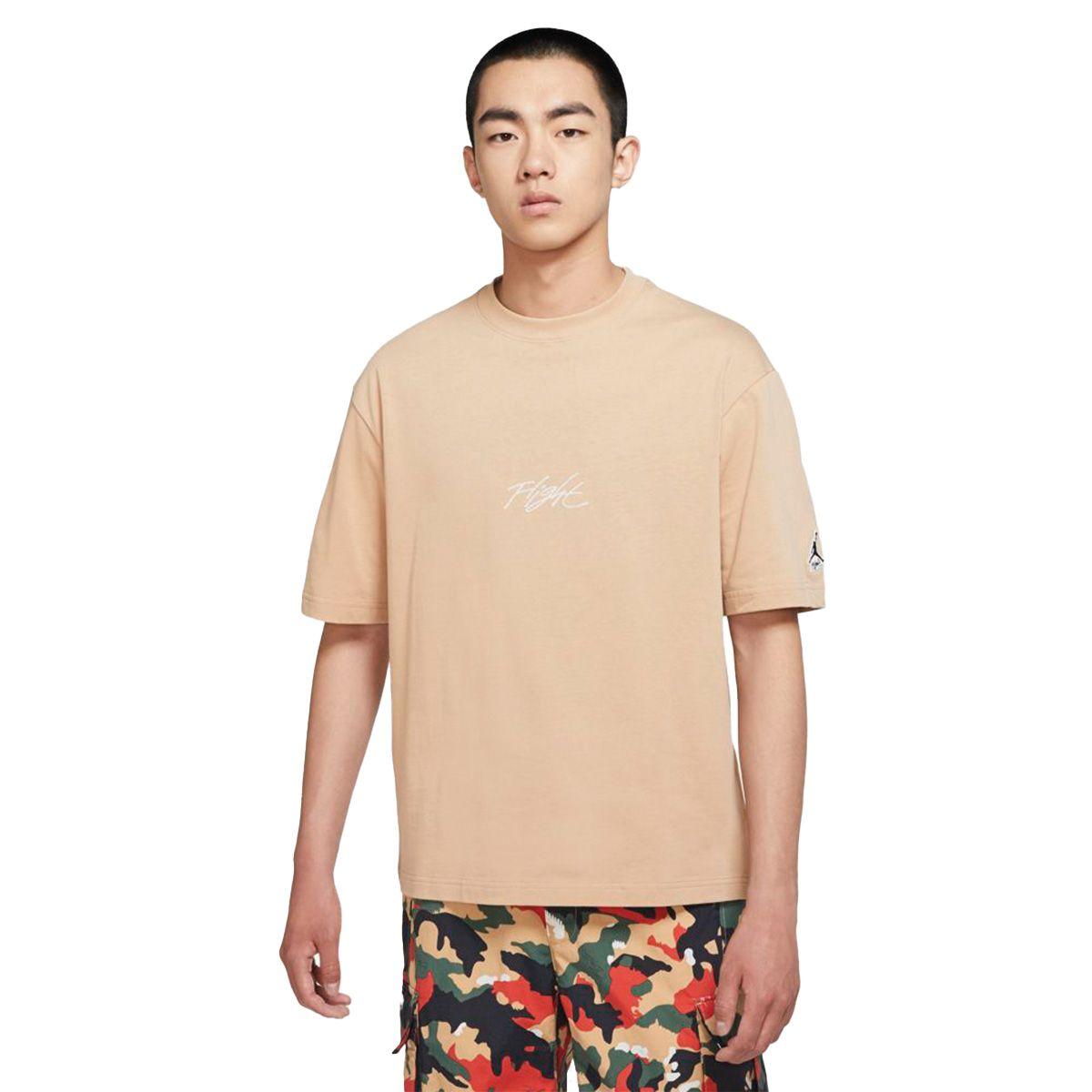 Nike T-Shirt Jordan Flight Essentials Uomo Beige