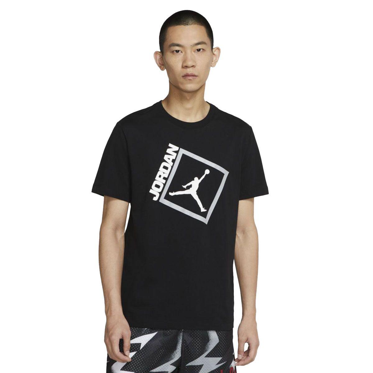 Nike T-Shirt Jordan Jumpman Box Uomo Nero