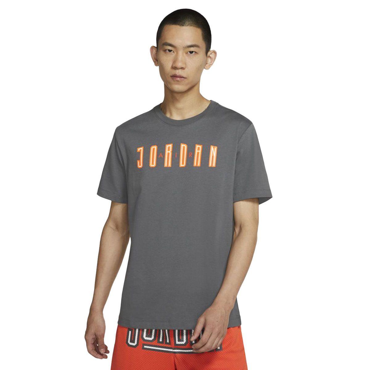 Nike T-Shirt Jordan Sport DNA Uomo Grigio