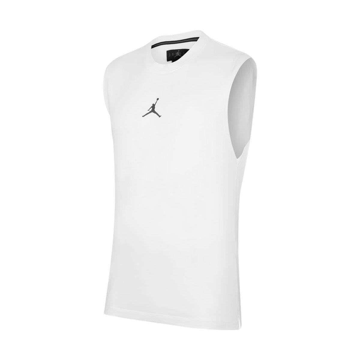 Nike Maglia Jordan Dri-FIT Air Uomo Bianco