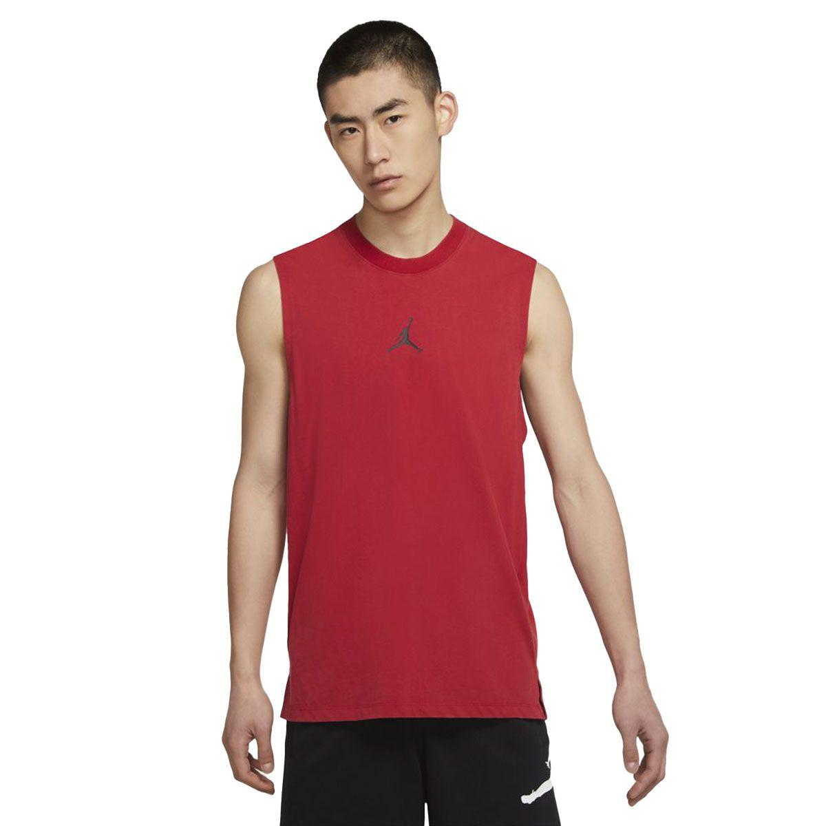 Nike Maglia Jordan Dri-FIT Air Uomo Rosso