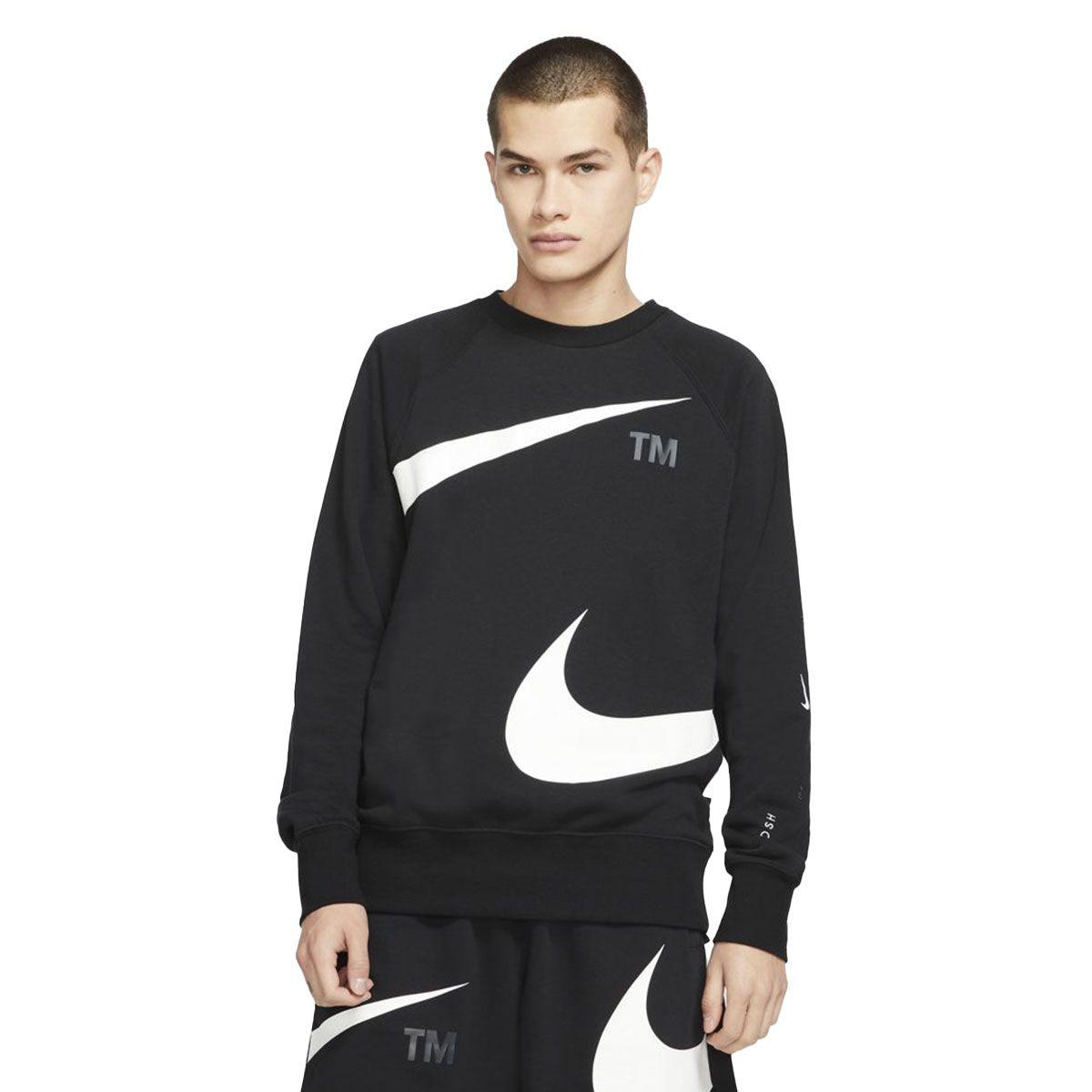 Nike Maglia Sportswear Swoosh Uomo Nero