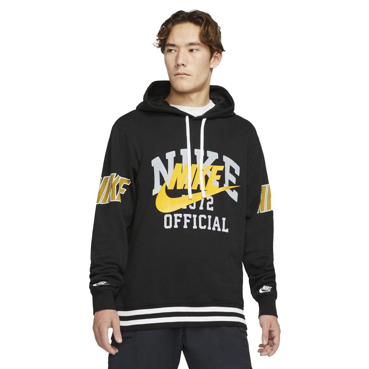 Nike Felpa Sportswear Uomo Nero