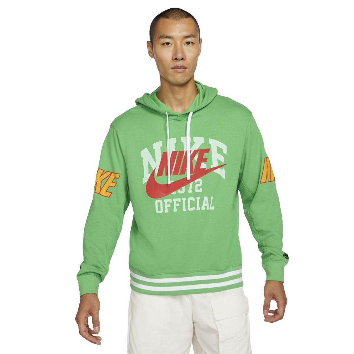 Nike Felpa Sportswear Uomo Verde