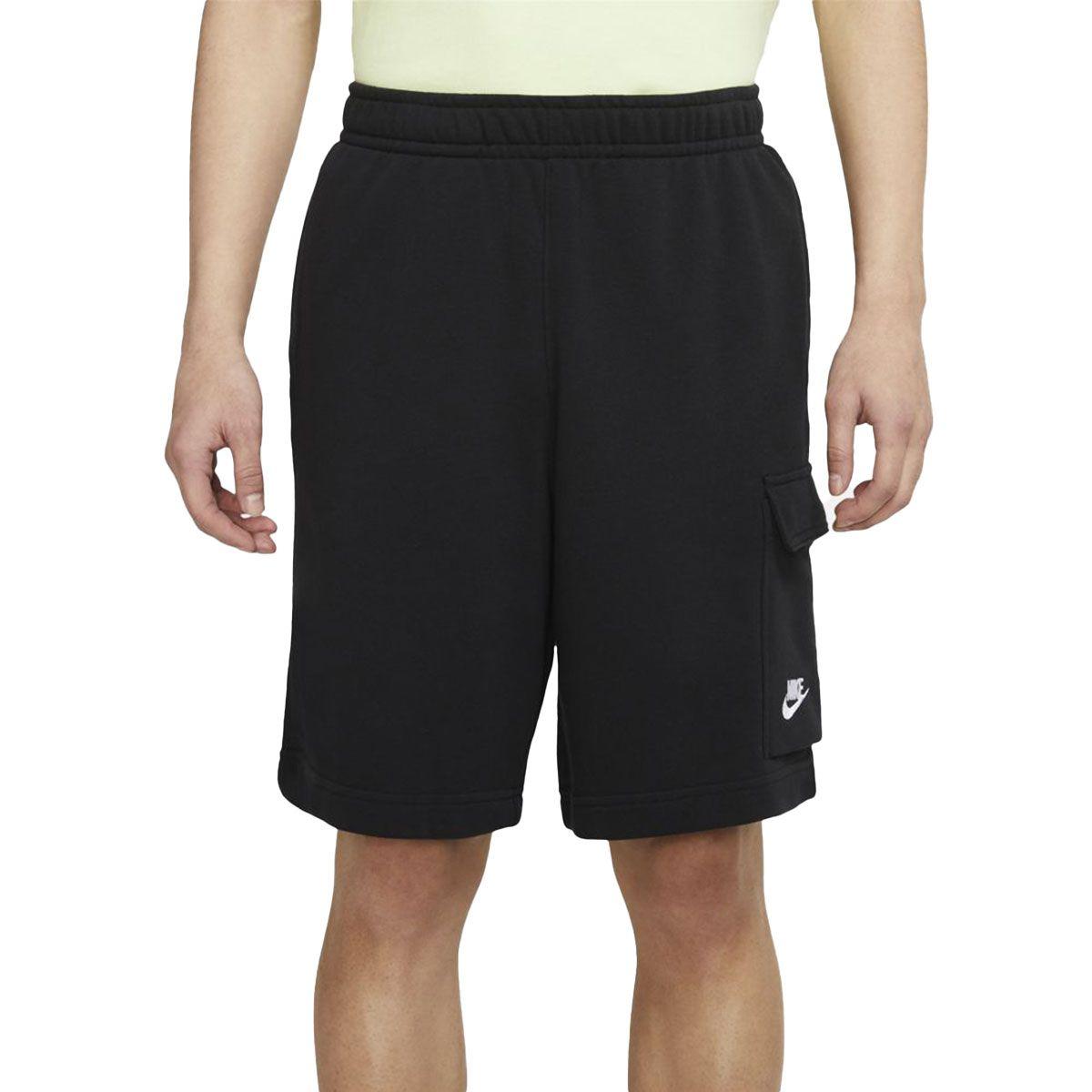 Nike Short Cargo Nsw Club Uomo Nero