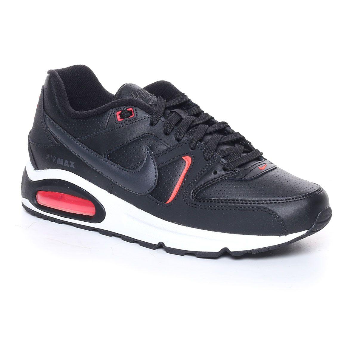 Nike Air Max Command Uomo Nero Rosso