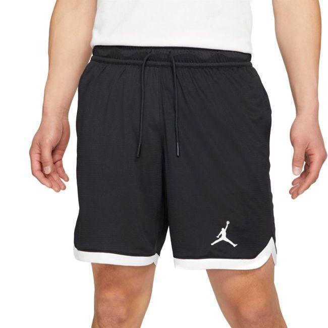 Nike Short Jordan Dri-Fit Air Uomo Nero Bianco