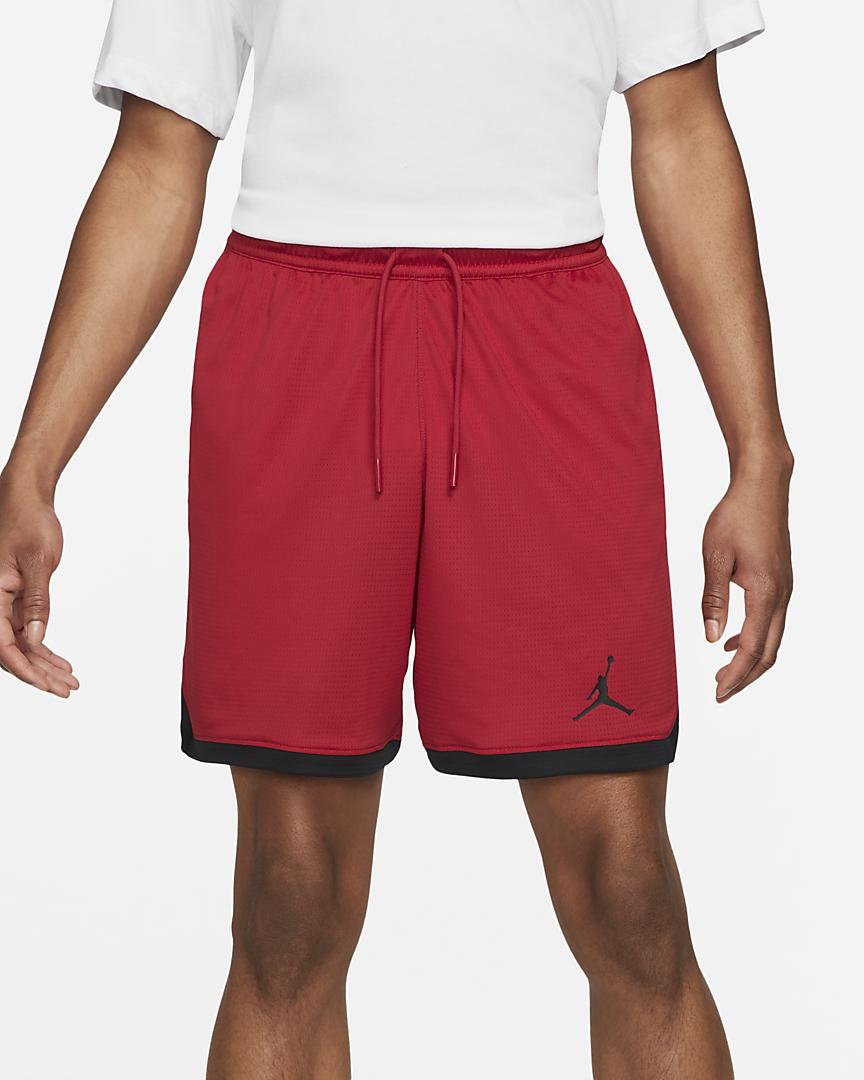 Nike Short Jordan Dri-FIT Air Uomo Rosso Nero